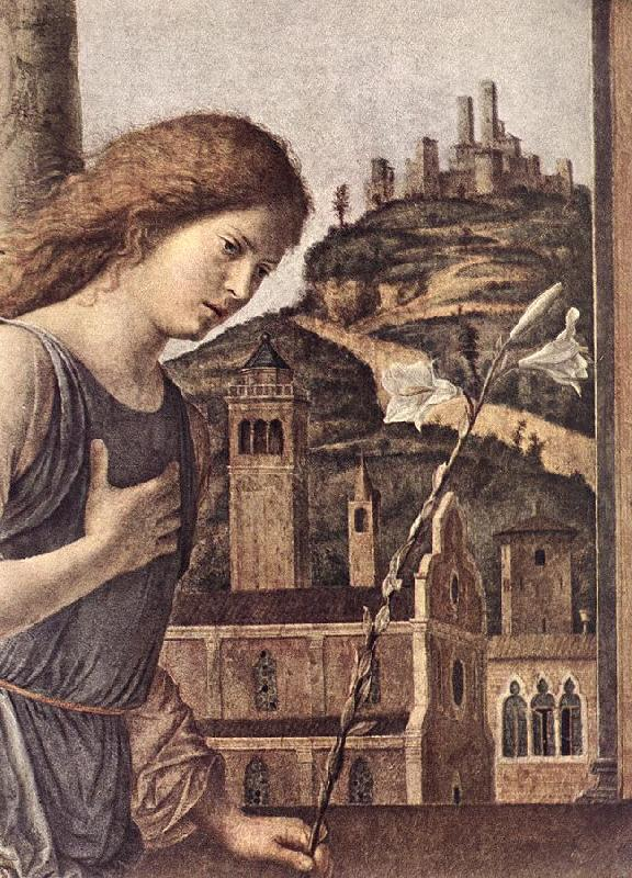 CIMA da Conegliano The Annunciation (detail) dsg Sweden oil painting art